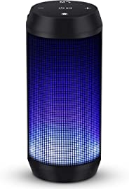 Bluetooth Speaker Wireless Speaker Music Box Portable with LED Lights Build-in Mic for Outdoor, Home & Travel ELEHOT