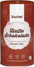 Xucker Heiße Schokolade (UTZ Xylit Trinkschokolade) - Pulver in Dose (29,5% Kakao) - vegan, ohne Gentechnik, zuckerfrei, 1er Pack (1 x 800 g)
