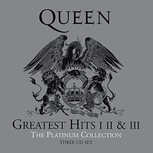 Queen Greatest Hits I, II & III - Platinum Collection - 3 CD