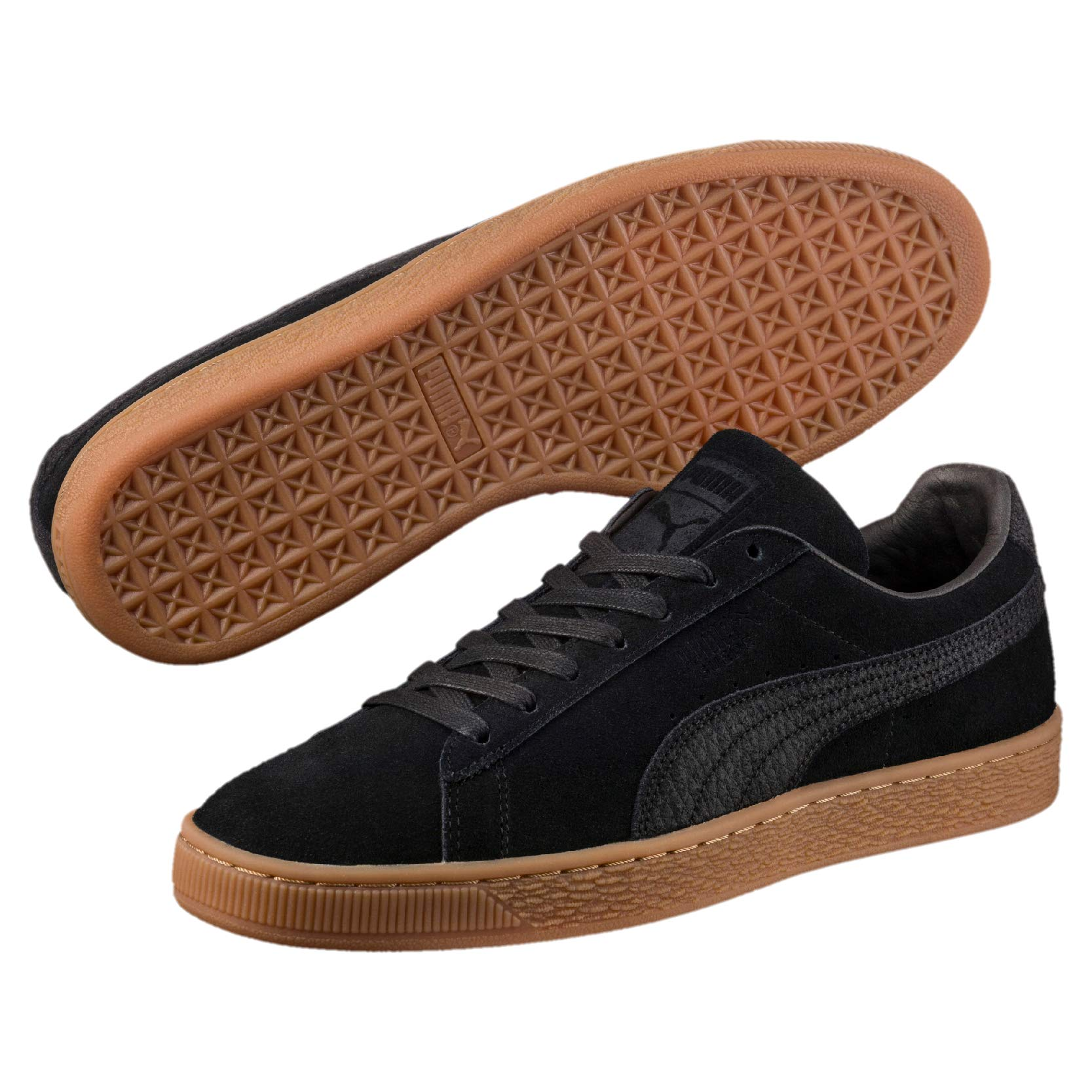 sports shoes 942a9 59504 Puma Unisex – Adult Suede Classic Natural Warmth Sneaker