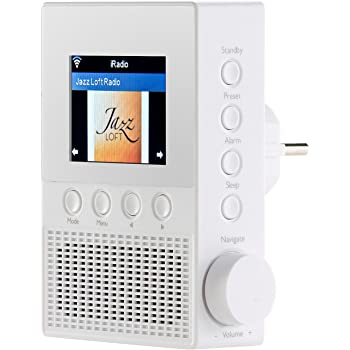 VR Radio Steckdosenradio: Steckdosen Internetradio IRS 300 Mit WLAN,  6,1 Cm Display, 6 Watt (Steckdosen Radio WLAN)