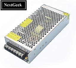 NextGeek 12V 10Amp 120W DC Power Supply Driver for CCTV and LED Strip light DC Power Supply