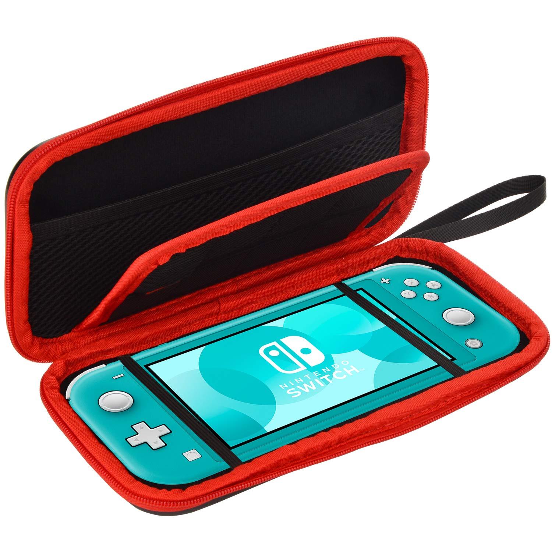 Nintendo Switch Lite Housse – Transport Rigide Protection Étui pour Switch Lite Console et Accessoires