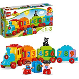 LEGO DUPLO Creative Play Number Train 10847 Building Kit