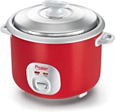 Prestige Delight Plastic Electric Rice Cooker 2.8-2(Red)