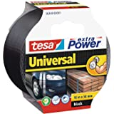 tesa extra Power Universal, 10m x 50mm, Zwart