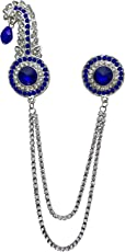 B-Fashionable Double Chain Round Kilangi Brooch