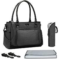 Baby Wickeltasche, BRINCH Multifunktion Baby Windel Umhängetasche tragbare Einkaufstasche mit Wickelunterlage, Isolierte…