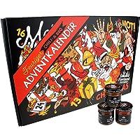 Chili- und BBQ-Adventskalender mit 24 Produkten | von mild bis höllisch | Geschenk für Advent und Weihnachten | Geschenk…