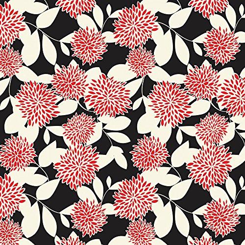 Apple iPhone 4 Housse Étui Silicone Coque Protection Fleurs Fleurs Ornements Sideflip Sac