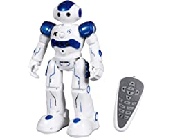 ANTAPRCIS Robot Giocattolo per Bambini, RC Control Azione del Sensore di Gesto Robot per Bambini, Robot Giocattolo Intelligen