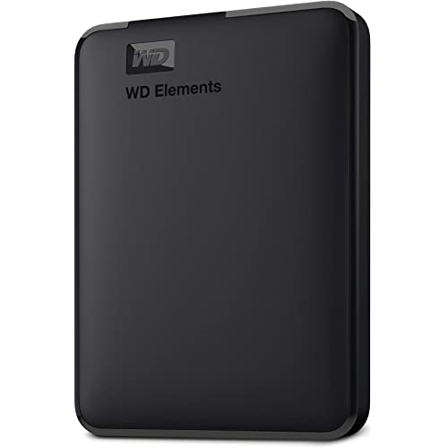 WD 2TB Elements Portable, Hard Disk Esterno Portatile, USB 3.0