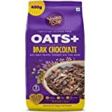 Yogabar Dark Chocolate Oats 400g | Wholegrain Oatmeal That Helps Reduce Cholesterol | Healthy Breakfast Cereal High in Protei