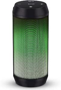 Cassa Bluetooth Altoparlante Speaker Portatili TWS Stereo Hi-Fi Bassi Potenti Luce LED Wireless Micro SD Chiamata Vivavoce Microfono Incorporato Batteria Litio USB ELEHOT