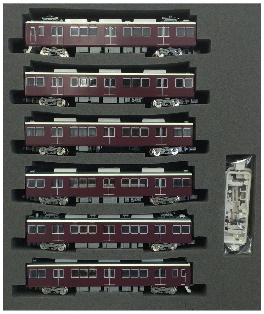Hankyu Series 8300 [Kyoto Line] Third Edition, with Diamond Pantograph Six Car Formation set (w/Moto