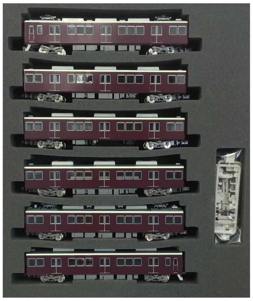 Hankyu Series 8300 [Kyoto Line] Third Edition, with Diamond Pantograph Six Car Formation set (w/Moto