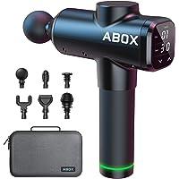ABOX Pistolet de Massage Musculaire, Masseur Musculaire avec Fonction de Minuterie & 30 Vitesse Réglables, Masseur de…