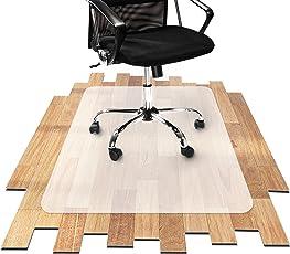 etm Bodenschutzmatte für Hartboden | 100% Ohne BPA & Phthalate - Geruchsfrei | Bürostuhlunterlage für Zuhause und im Büro | Viele Größen