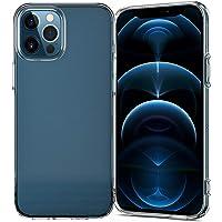 NEW'C Custodia Compatibile con iPhone 12/12 Pro (6,1 pollici), antiurto, in silicone TPU trasparente - HD trasparente