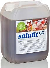 solufit GD - rein biologisches Kompostextrakt für Trockentoiletten, Stallhygiene, Kompostbeschleuniger, Fliegenschutz, Geruchsbekämpfung, Gülle- und Mistaufbereitung