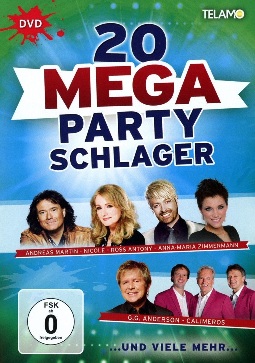 20 Mega Party Schlager