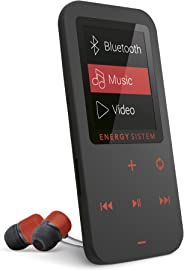 Energy Sistem MP4 Touch Bluetooth Coral Red (MP4 Bluetooth music player,  in-ear earphones included, 8 GB,  touch buttons, FM