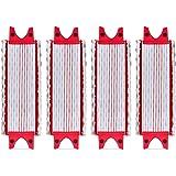 Lot de 4 Replacement Microfibre Pad pour Vileda EasyWring Ultramax/ 1-2 Spray Tampons de Microfibre pour Vileda Ultramax, Ult