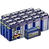 Varta Industrial Batterie 9V Block Alkaline Batterien 6LR61 (20er pack)