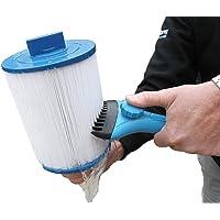 Super Blaster Nettoyeur de Cartouches - Baguette de Nettoyage de Filtre de Bain à Remous
