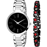 On Time Octus Analog Girls and Womens Watch with Bracelet