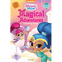 Magical Adventures: Giant Coloring Book for Kids (Shimmer & Shine)