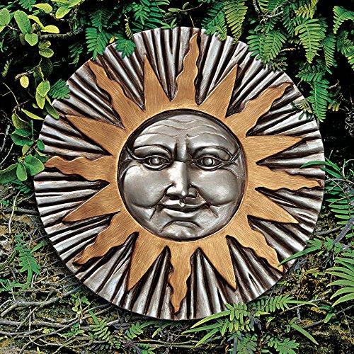 Design Toscano Aufgehende Sommersonne, Wandfigur