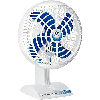 Bajaj Ultima PT01 200mm Table Fan (White)