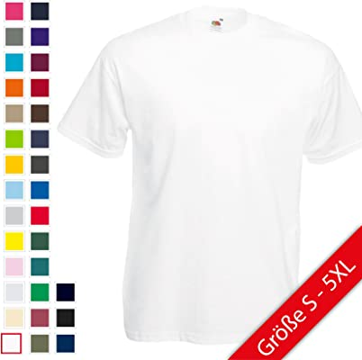 Fruit of the Loom Valueweight T-Shirt S M L XL XXL XXXL
