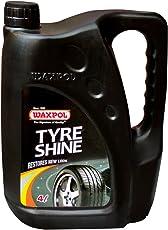 Waxpol Tyre Shine - 4 litres (Set of 1)