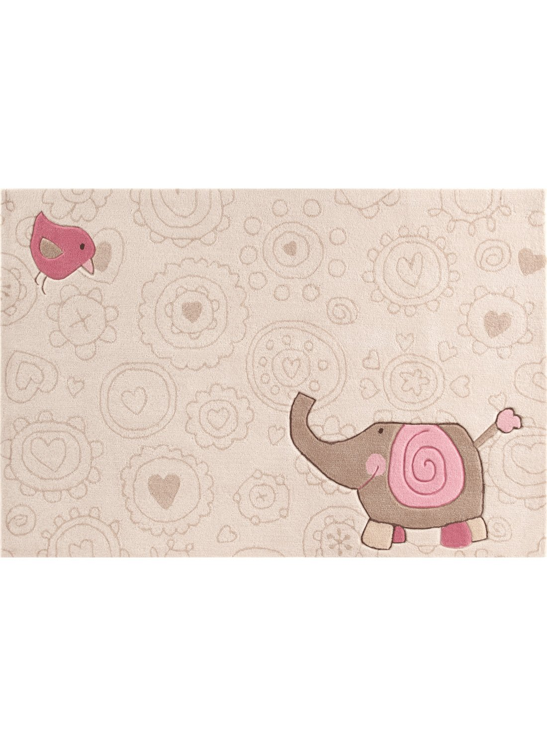 Kinderteppich sigikid  Amazon.de: Sigikid Kinderteppich Happy Zoo Elephant | beige | 140 ...