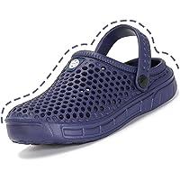 Kids Boys Garden Clog Shoes Beach Pool Sandals Lightweight Anti-Slip Mules Slippers Girls Casual Flip Flops Footwear for…