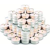 Bougies Chauffe-Plats - Lot de 100 Bougies - Non parfumée - Durée 6H de Combustion - Idéal Pour Tous Évènements et lieux…
