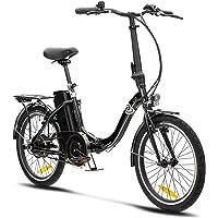 VecoCraft Nemesis Elektro Klapprad,E Bike 20 Zoll,E-Folding Bike mit ausziehbarer Baterrie 36V 13Ah, 250W Motor…