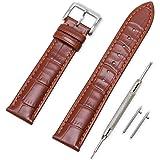 Vinband Cinturino Quick Release in Vera Pelle Cinturini Orologi Accessori Smart Bordatura Cucita - 16/18/19/20/21/22/24 mm Ci