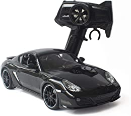 ToysCentral Porsche Cayman R Remote Control Car, 1:16 Officially Licensed Model