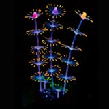 Uniclife Decorazione Artificiale in Silicone Effetto Corallo a Striscia di Ornamento di Corallo per Acquario, Paesaggio Acqua