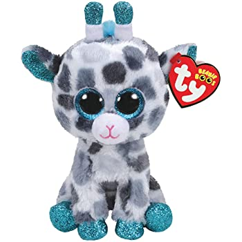 Claire's Girl's Ty Beanie Boo Small Gia the Giraffe Soft Toy Gray