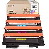Ziprint (con chip) W2070A W2071A W2073A W2072A Compatibile con cartucce di toner HP 117A per HP Color Laser 150a 150nw 178nw