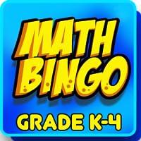 Math Bingo Grade K-4