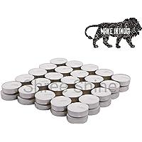 Generic Wax SMOKELESS Tealight Candles (Set of 50)