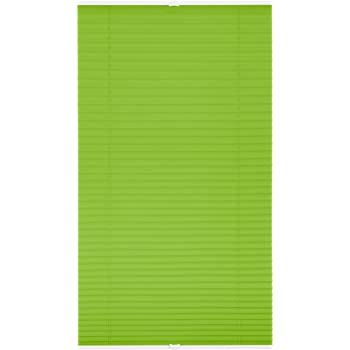 Lichtblick PKV.065.130.06 Plissee Klemmfix, ohne Bohren, verspannt Grün, 65 cm x 130 cm (B x L)