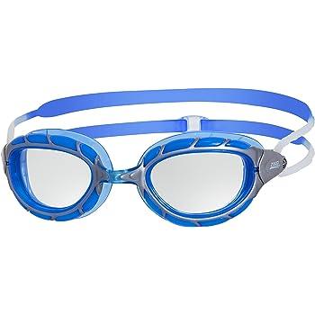 Zoggs Predator Gafas de Natación, sin Género, Azul (Silver/Blue/Clear), Talla única