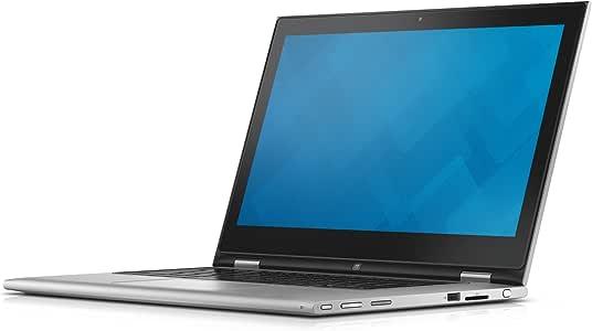 Dell 7359-4839 33,8 cm (13,3 Zoll) Laptop (Intel Core i7 6500U, 8GB RAM, 256GB HDD, Win 10 Home Touchscreen) schwarz/silber