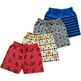 MIST N FOGG Short for Boys & Girls Casual Printed Cotton Shorts…